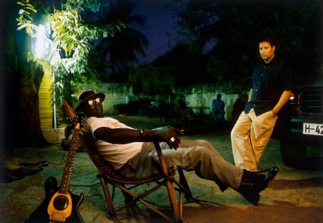Ali Farka Toure y Nick Gold