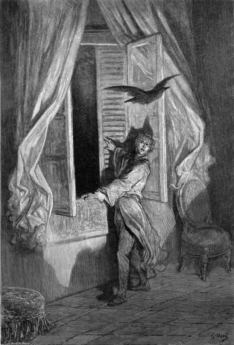 "El cuervo de ""Paul"" Gustave Doré"