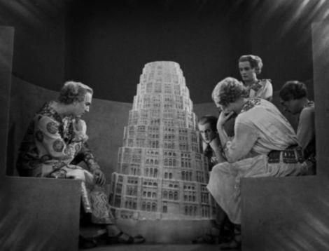 La torre de Babel en Metropolis (Fritz Lang, 1927)
