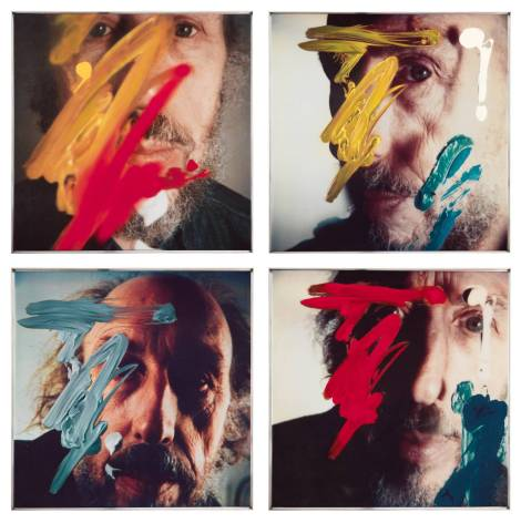 Four Self Portraits - 05.3.81 1990 by Richard Hamilton 1922-2011