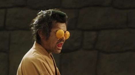 Otro fotograma de Sabbard Samurai