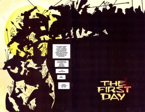 Frank-Miller-300-The-First-Day